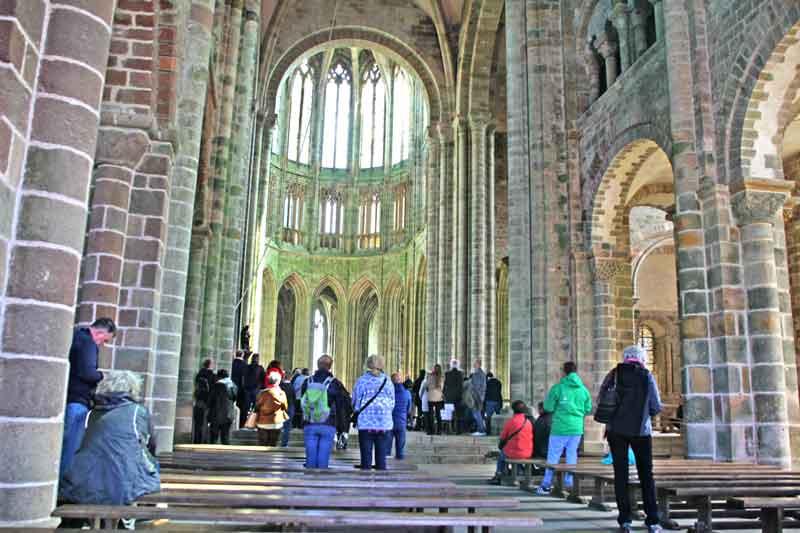 Bild 29 Abteikirche - Mont-Saint-Michel