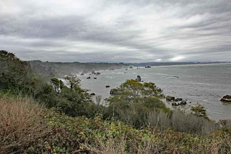 Bild 5 In Kalifornien weiter nach Eureka, leider bei regnerischem Wetter
