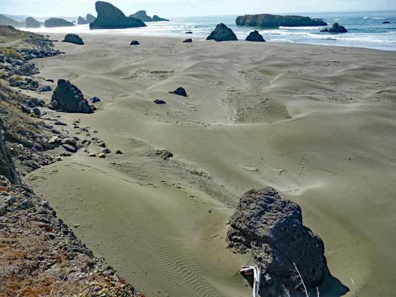 Bild 11 Immer wieder tolle Blicke auf die Küstenlandschaft in Oregon