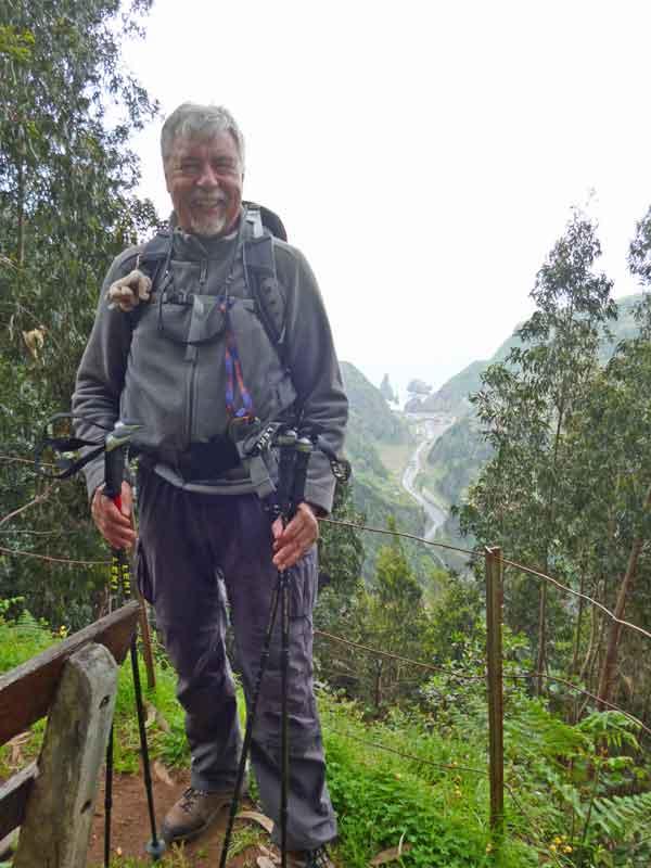 Bild 5 Unterwegs auf der Levada da Ribeira