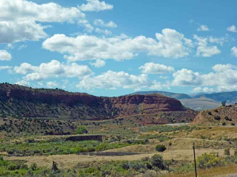 Bild 2 Unterwegs nach Westen durch eine wunderschöne Landschaft, fast ohne Verkehr