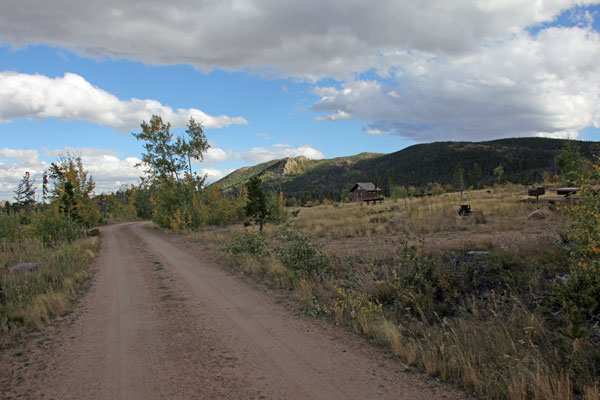 Bild 22 Blick über den Yellow Pine Campground