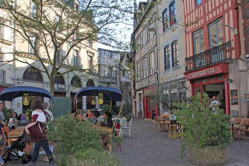 Bild 28 Bummel durch die Altstadt von Rouen
