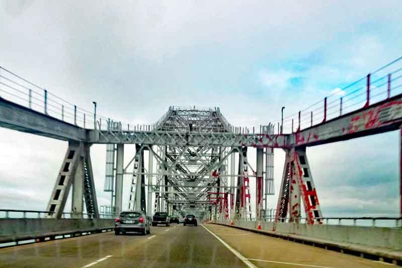 Bild 2 Fahrt über die Richmond San Rafael Bridge in Richtung Tiburon
