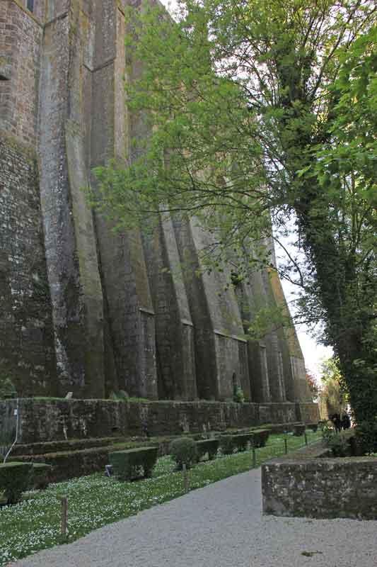 Bild 40 Auf dem Weg nach unten nach der Besichtigung der Abtei