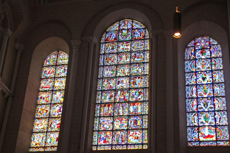 Bild 6 Kathedrale von innen in Chartres