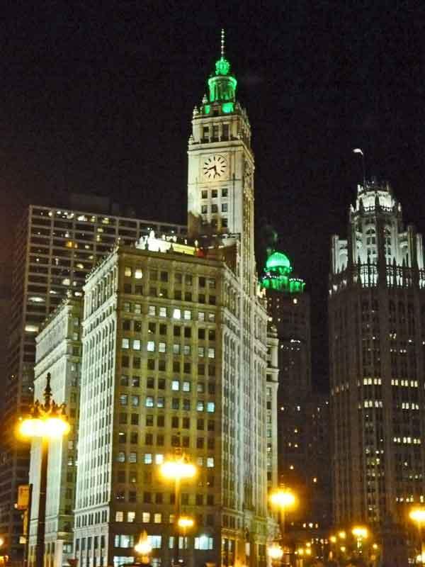 Bild 15 Chicago bei Nacht