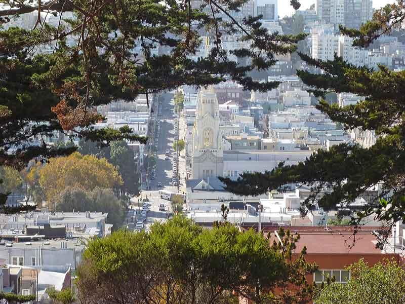 Bild 22 Blick auf SF vom Coit Tower