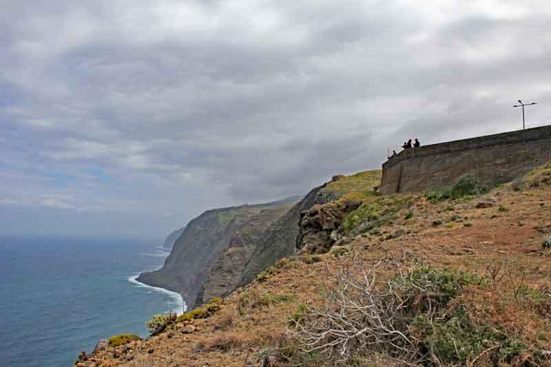 Bild 9 Blick aufs Meer vom Leutturm von Ponta do Pargo