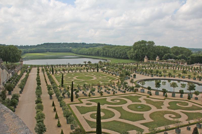 Bild 3 Parkanlagen von Versailles
