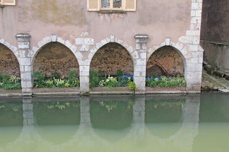 Bild 13 Am Fluß L'Eure in Chartres