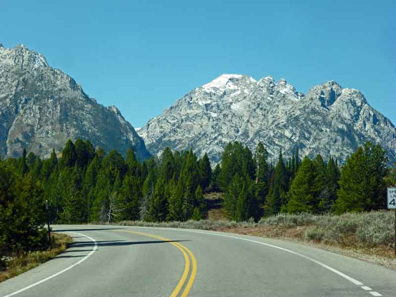 Bild 5 Auf dem Weg zum Jenny Lake im Grand Teton Nationalpark