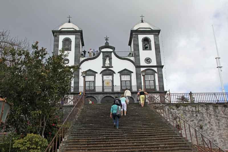 """Bild 66 Wallfahrtskirche """"Nossa Senhora do Monte"""""""