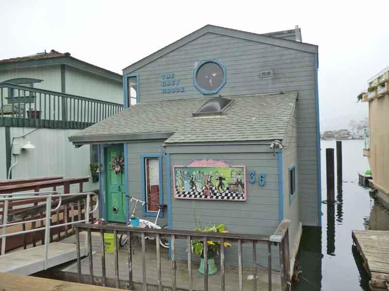 Bild 31 In der Hausbootsiedlung in Sausalito