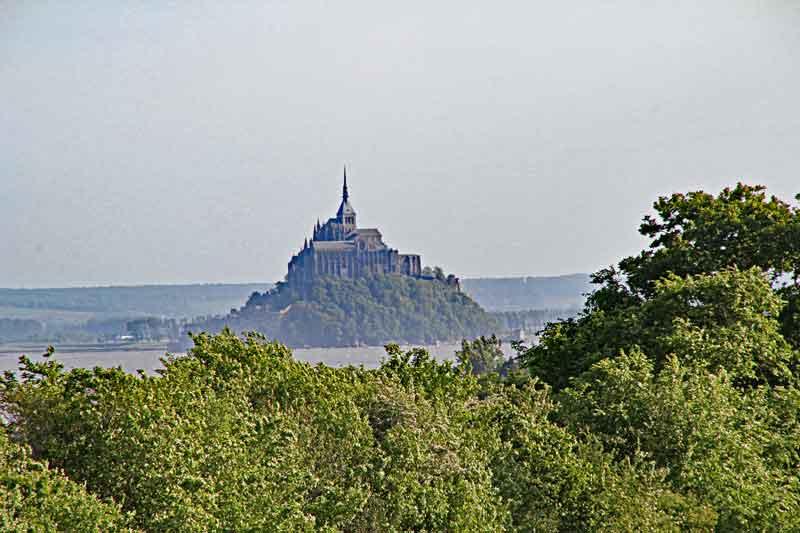 Bild 39 Blick auf Mont-Saint-Michel, bei einem Spaziergang von Clerval