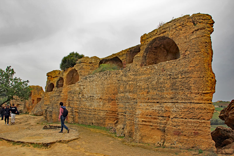 Bummel durch die Tempelanlage von Agrigento
