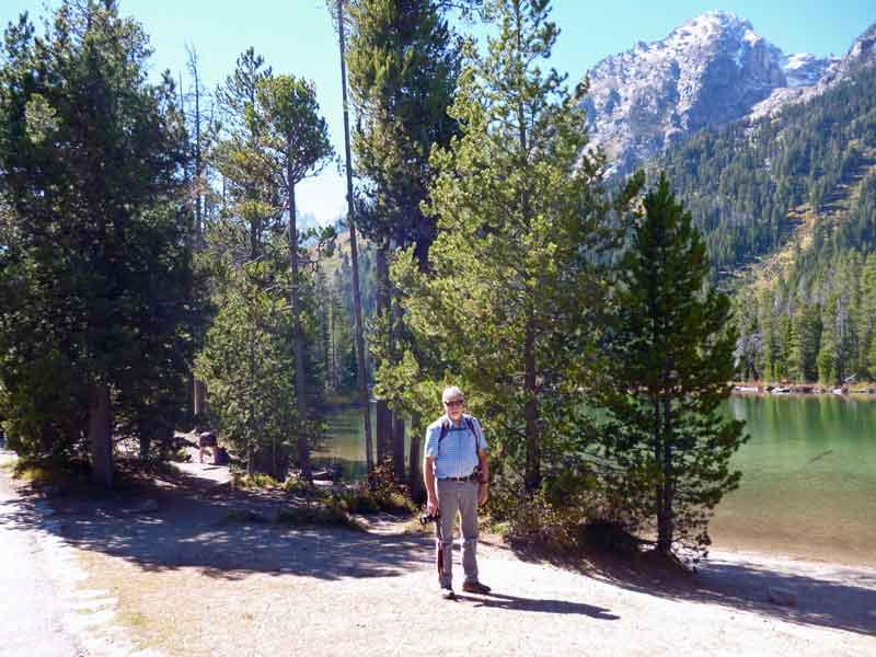 Bild 10 Wunderschöner Wanderweg entlang des Leigh Lakes