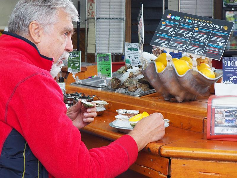Bild 19 Ich lasse mir die Austern schmecken