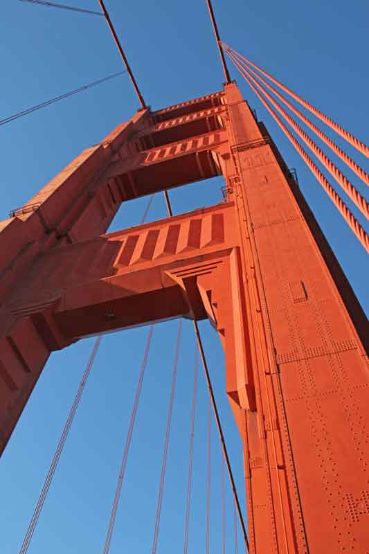 Bild 60 Auf der Golden Gate Brücke
