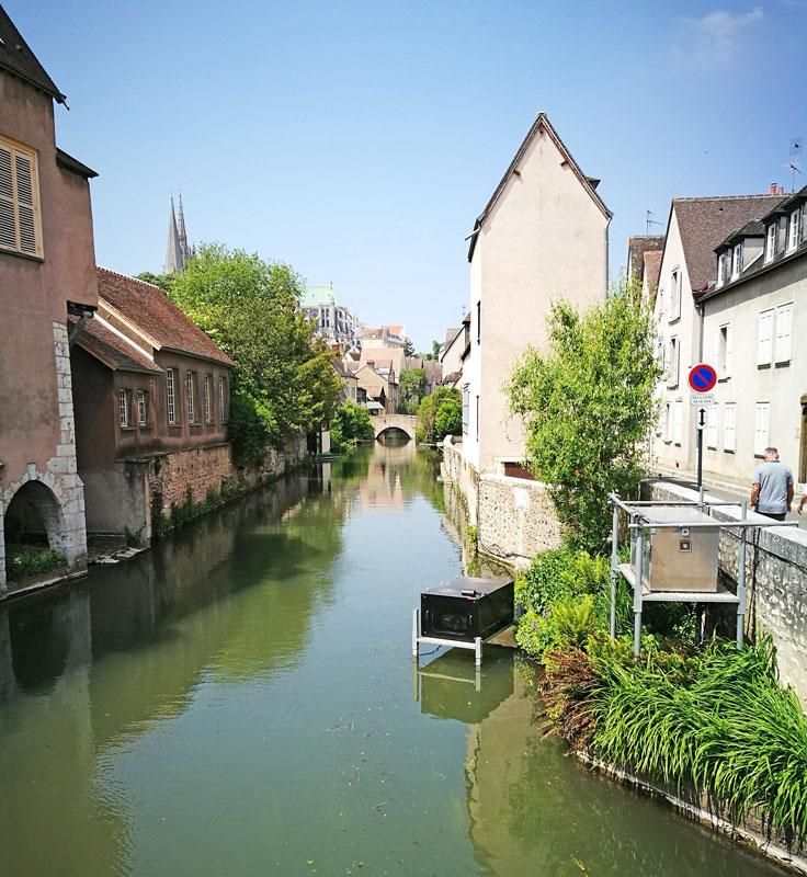 Bild 15 Am Fluß L'Eure in Chartres