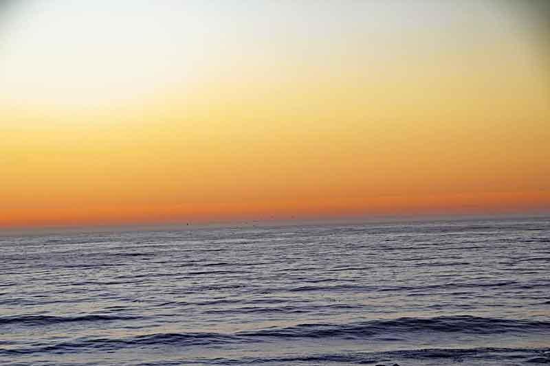 Bild 38 Sonnenuntergang beobachtet mit Sundowner
