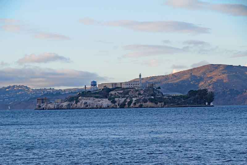 Bild 50 Blick auf Alcatraz vom Pier
