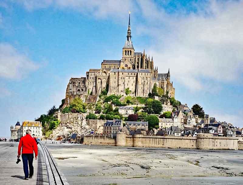 Bild 5 Auf dem Weg zu Mont-Saint-Michel