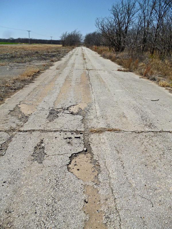 """Bild 6 Auf der """"Historic Route 66"""""""
