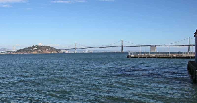 Bild 12 Blick auf die Richmond San Rafael Brücke