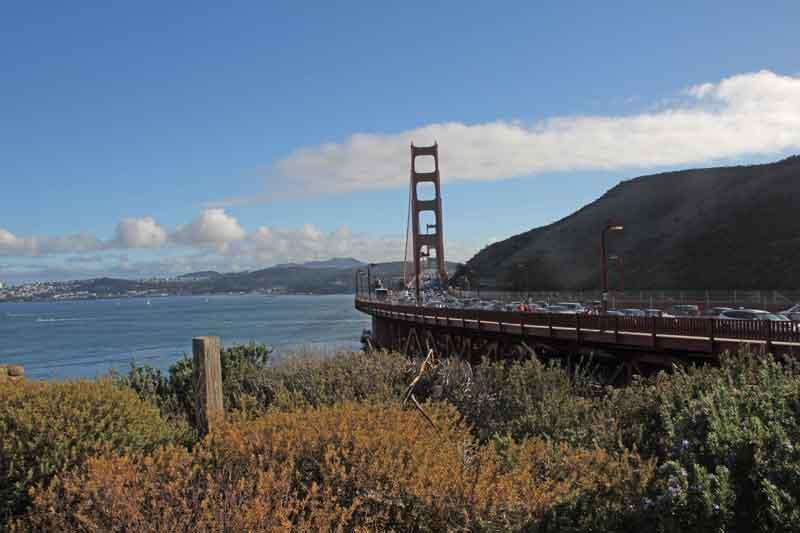 Bild 54 Blick auf die Golden Gate Brücke
