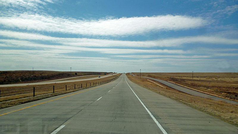 Bild 15 Unterwegs auf der Route 66 in Texas