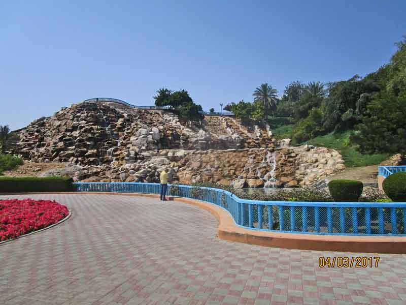 Bild 3 Im Qurum Park in Muscat