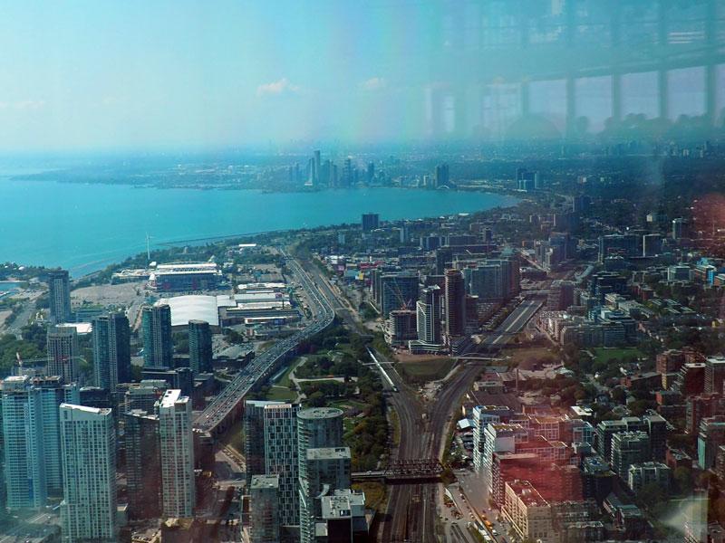 Bild 36 Blick vom CN Tower