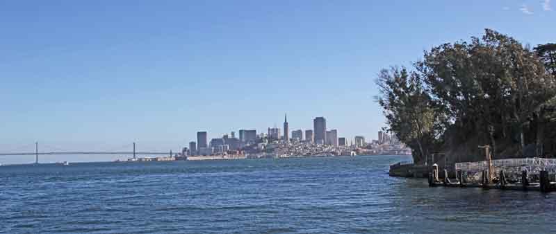 Bild 10 Blick zurück auf die San Francisco SkyLine