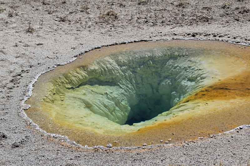 """Bild 15 Wanderung rund um """"Old faithful"""" im Yellowstone National Park"""