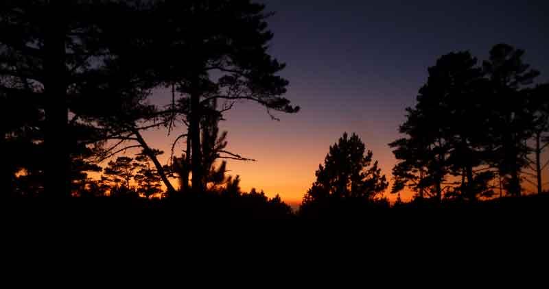 Bild 32 Sonnenuntergang am Gerstle Cove CG