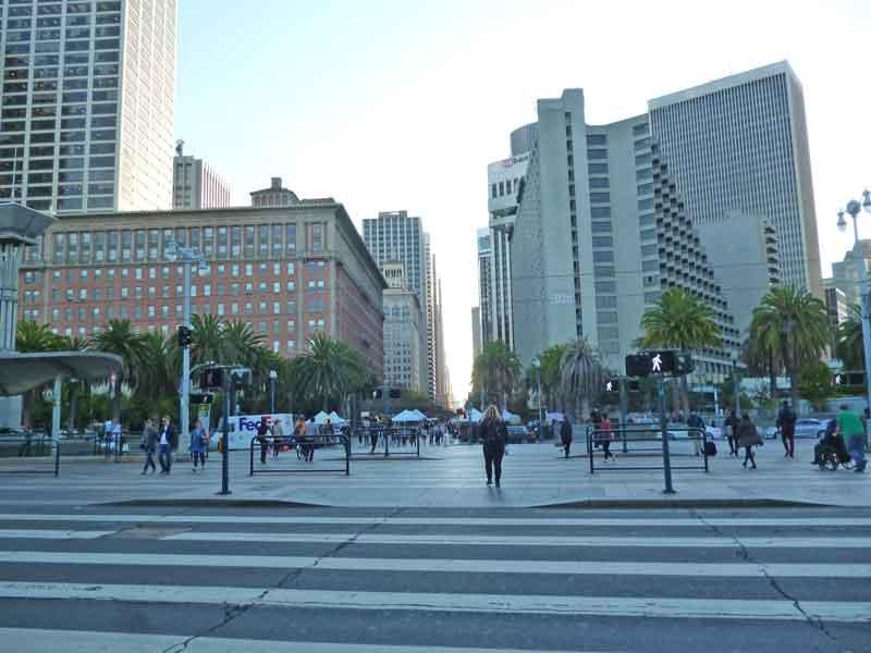 Bild 13 Blick auf die Hochhäuser von San Francisco