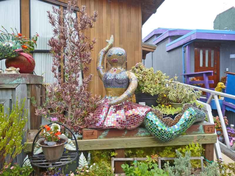 Bild 29 In der Hausbootsiedlung in Sausalito
