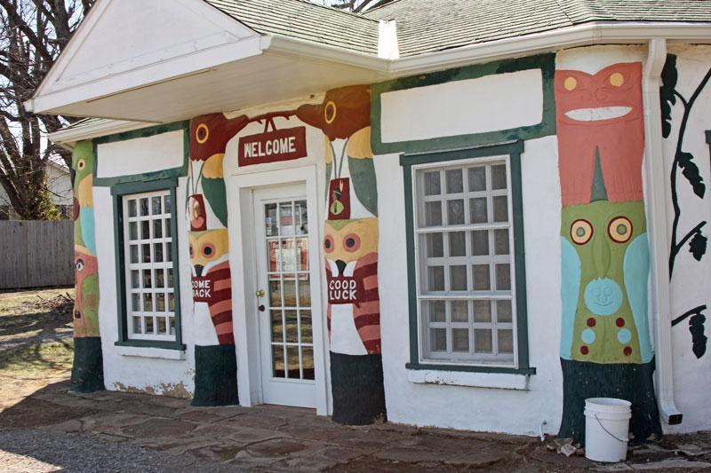 Bild 7 Eingang zum kleinen Museum