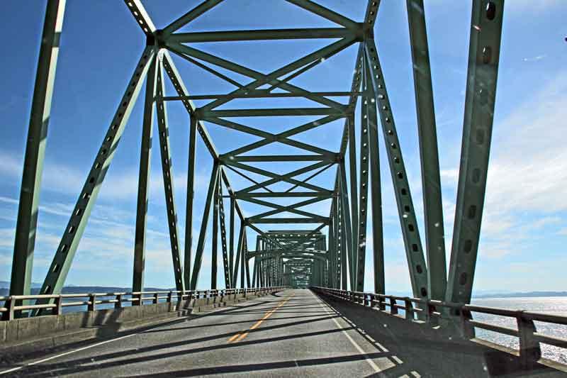 Bild 4 Brücke über den Columbia River