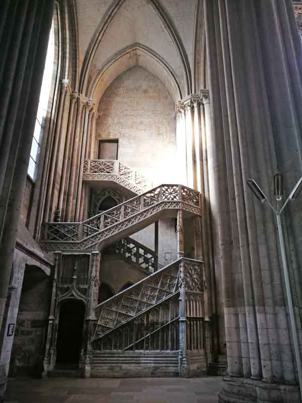 Bild 22 In der Kathedrale von Rouen