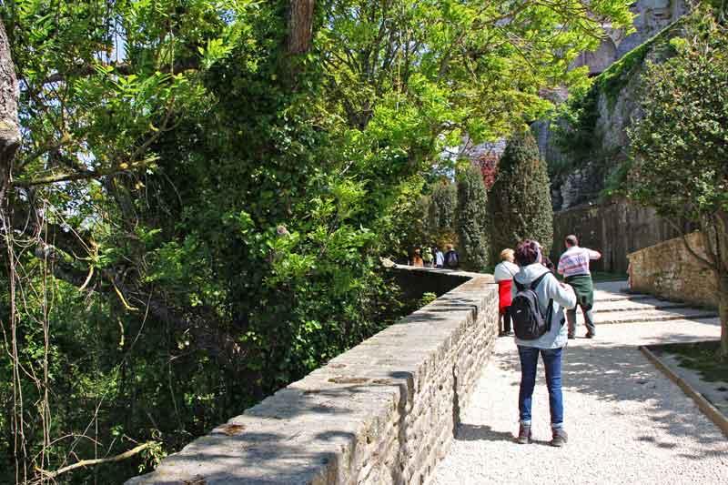 Bild 41 Auf dem Weg nach unten nach der Besichtigung der Abtei