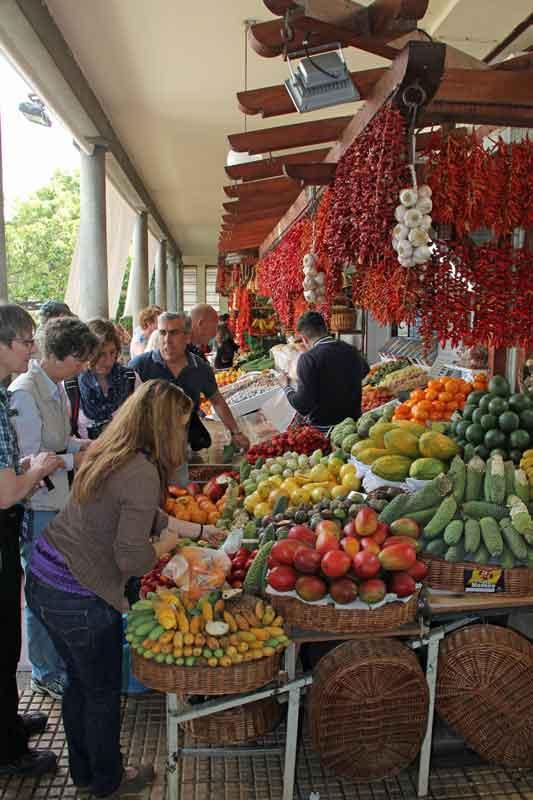 Bild 24 Die Auswahl an Obst und Gemüse ist wirklich toll, der Duft und die Farben begeistern