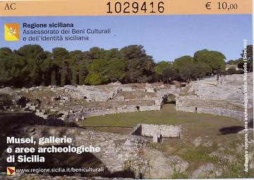 Eintrittskarte Selinunte