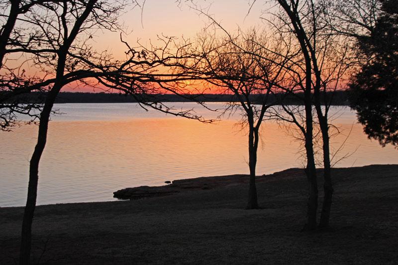 Bild 24 Abendeindrücke am Lake Arcadia