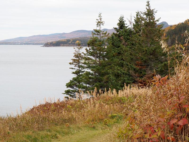 Bild 3 Unterwegs an den Klippen entlang, immer mit einem Blick aufs Meer