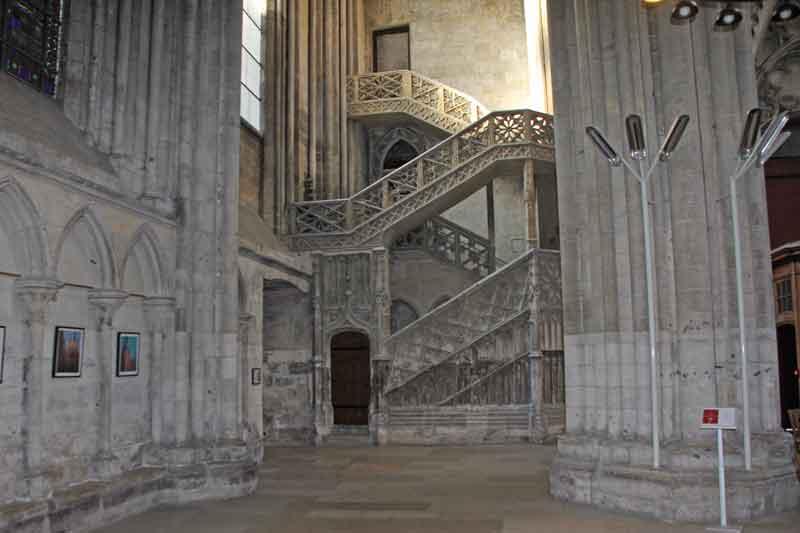 Bild 23 In der Kathedrale von Rouen
