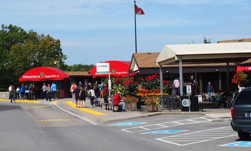 "Bild 3 Am Parkplatz am ""Niagara Whirlpool"""