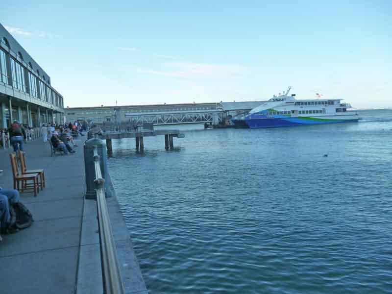 Bild 14 Am Fährhafen von San Francisco