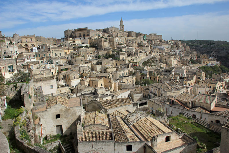 Basilikata 2016, Bummel durch Matera am Morgen